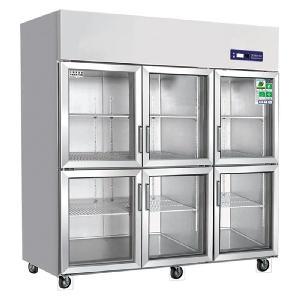 奥斯特六门冷藏保鲜展示柜TS1.6G6