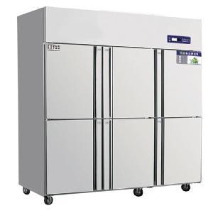 奥斯特六门单温冷冻冰箱TF6  商用六门冷冻冰箱