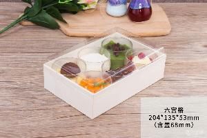 天然木材 一次性木質包裝盒  食品包裝盒 慕斯 蛋糕 生產廠家