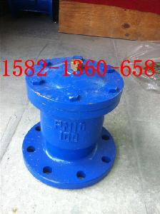 QB1(P1)-10C/16C铸钢法兰单口自动排气阀DN32/40/50