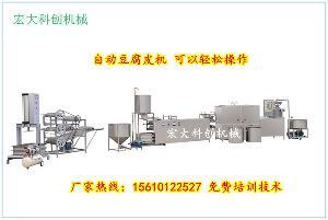 广西玉林豆腐皮机设备  大型豆腐皮机生产厂家