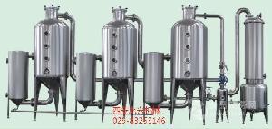 三效真空浓缩器适用于果蔬汁及众多水溶液物料的缩蒸发能力高