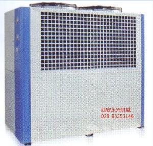 冷水机组- 压缩机采用美国谷轮全封闭涡旋压缩机制冷效果稳定