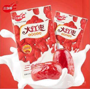 三剑客大枣奶风味发酵乳酸菌早餐大红枣酸牛奶饮