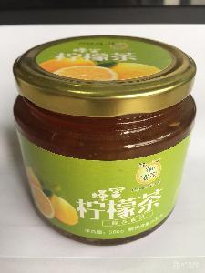 草香園蜂蜜檸檬茶500g 韓國風味沖飲 休閑下午茶水果茶