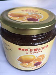 蜂蜜柠檬红枣茶