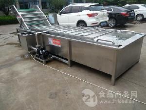 供應全自動高壓水流果蔬鼓泡清洗設備