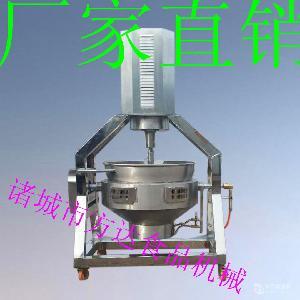 電加熱200L攪拌夾層鍋 商用 全自動熬糖鍋 化糖機 火鍋底料炒鍋
