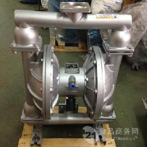 上海晶泉QBY-50氣動隔膜泵耐磨耐腐蝕