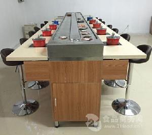乌鲁木齐壹欣ZX-2旋转火锅设备专业安装