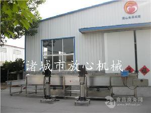 中国自动化玉米加工 FX- 速冻玉米加工流水线出口国外