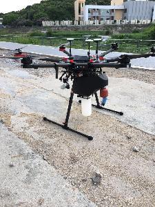 工厂废水总排放口铜检测 无人机搭载自动取水装置