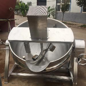 天然气加热搅拌炼油夹层锅