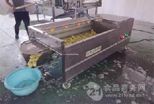 供应 土豆去皮清洗机 304现货销售