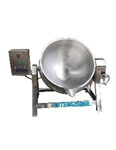 酱牛肉卤煮锅 高粘度月饼馅料炒锅 卧式搅拌夹层锅