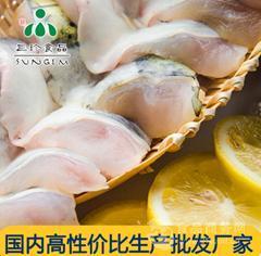 安徽巢三珍 带皮鮰鱼肚片 冷冻鮰鱼腩 厂家批发直销