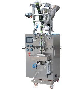 圆角颗粒自动包装机、圆角粉末自动包装机、根据物料配下料方式