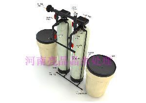 每小时出水3吨全自动软化水设备 去离子水设备漯河厂家代理价格
