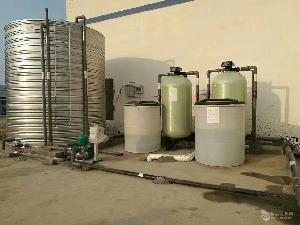 6t/h全自動單閥雙罐軟化水設備