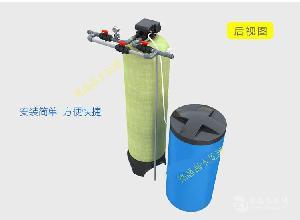 开封供应2吨全自动锅炉软化水设备单阀双罐一备一用现货供应