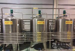 酒精发酵罐清洗方便冷却均匀卫生达标噪音低转化率高