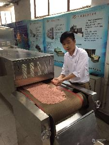 济南小型微波豆腐猫砂加工设备