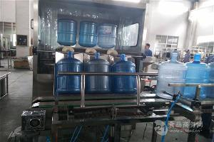 小型全自动桶装水灌装机
