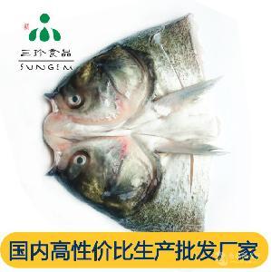 三珍食品 新鲜冷冻 鲢鱼头 厂家直销 批发