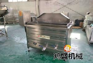 鸿盛供应 香酥鱼油炸机 304材质 自动翻料