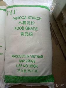 木薯颗粒粉 木薯粗粉 越南进口 25kg/袋