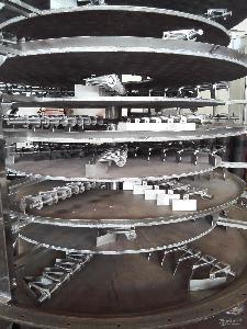 品質優越碳化鋰傳導盤式干燥機|圓盤干燥器