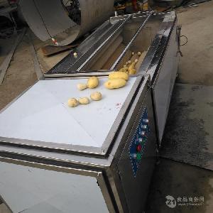 土豆清洗去皮机 不锈钢土豆清洗机价格