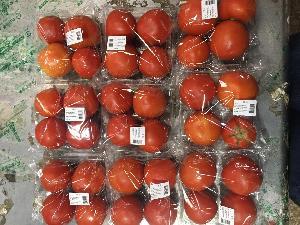 水果蔬菜西红柿带托盒包装机