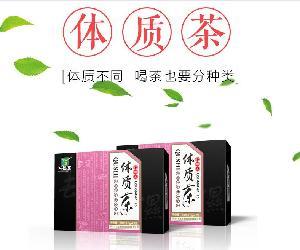 万松堂体质茶一件代发 祛湿茶  养生茶 招商代理