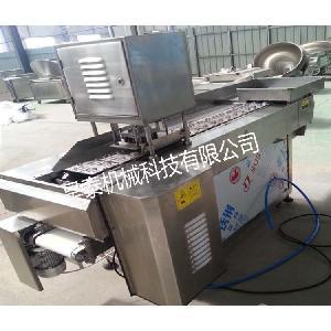 昊泰 HT-QG-30 廠家直供泡椒鳳爪加工流水線 連續自動鳳爪切割機