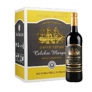 法国进口红酒批发劲帆侯爵红葡萄酒