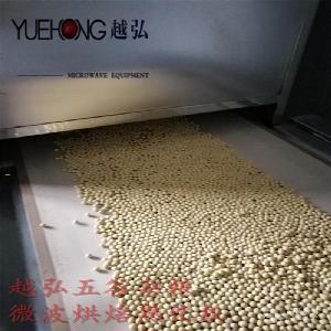 五谷杂粮微波烘焙熟化设备操作流程 视频