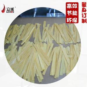 山东立威豆油皮腐竹微波干燥杀菌设备厂家