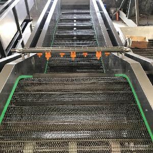 全自动净菜加工设备  无损净菜加工流水线  中央厨房专用清洗机