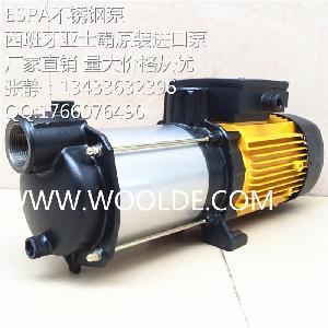 ESPA进口卧式多级离心泵 PRISMA15 2M自吸泵 水辽机专用泵